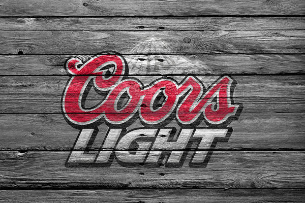 Bottles Photograph - Coors Light by Joe Hamilton