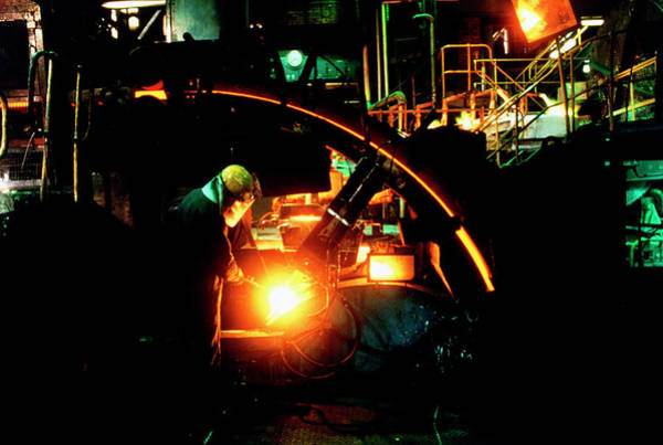 Manufacture Wall Art - Photograph - Copper Production by Simon Lewis/science Photo Library