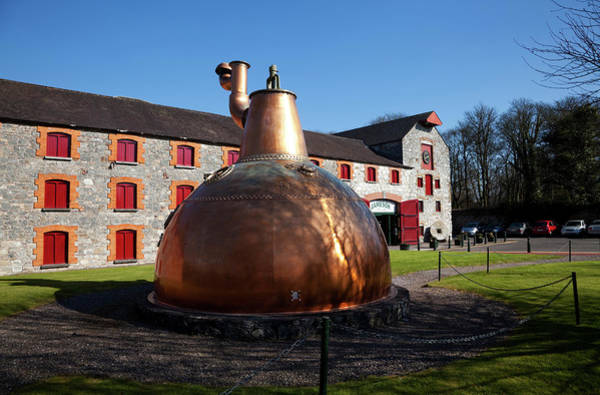Irish Whiskey Photograph - Copper Still At Midleton Whiskey by Panoramic Images