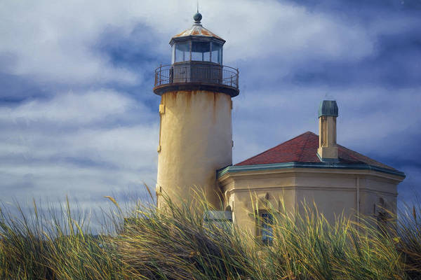 Photograph - Coquille River Lighthouse II by Joan Carroll