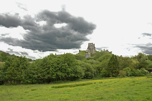 Photograph - Corfe Castle by Tony Murtagh