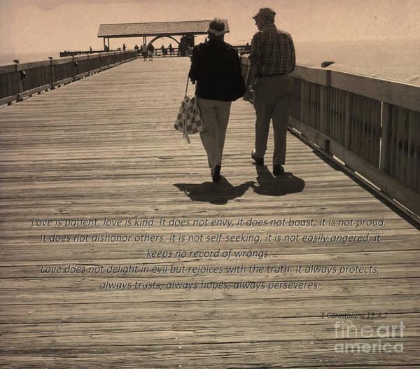 Photograph - 1 Corinthians 13 by Andrea Anderegg