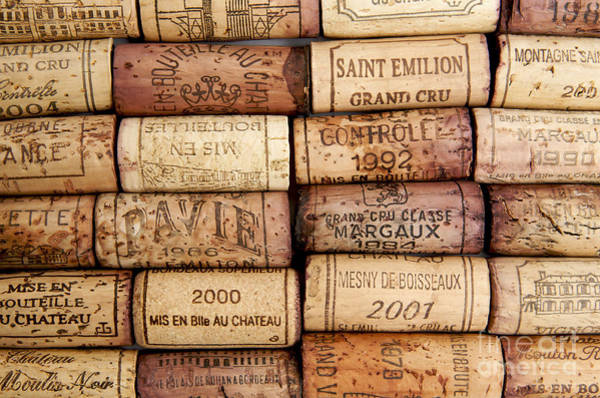 Wine Tasting Photograph - Corks by Bernard Jaubert