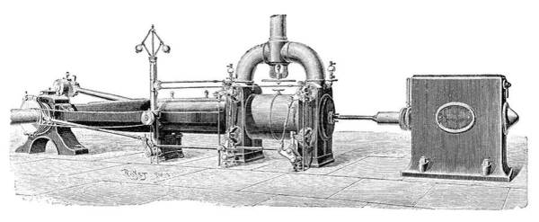 Condenser Wall Art - Photograph - Corliss Steam Engine by Science Photo Library