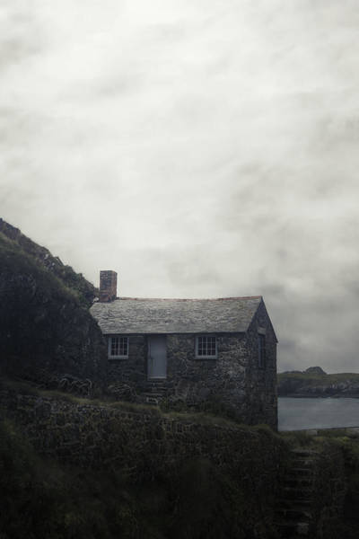 Abandoned House Wall Art - Photograph - Cornish Cottage by Joana Kruse