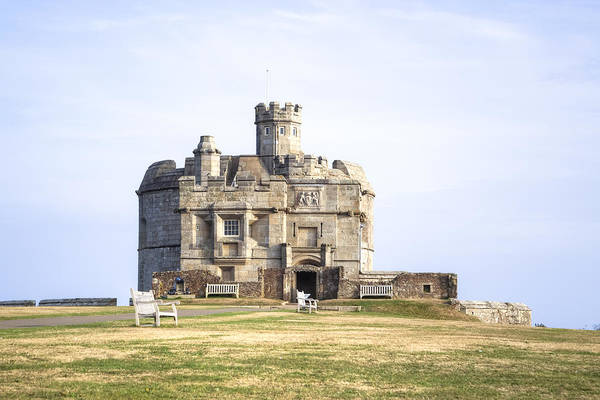 Falmouth Wall Art - Photograph - Cornwall - Pendennis Castle by Joana Kruse