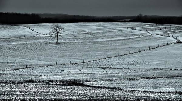 Photograph - Country Landscape In Winter by Dan Sproul