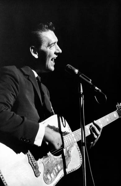 Photograph - Country Music Star Carl Smith by Underwood Archives