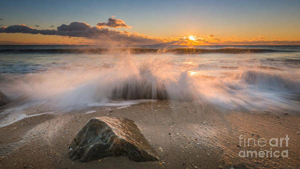 Michael Photograph - Crashing Waves by Michael Ver Sprill