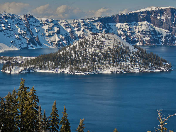 Photograph - Crater Lake by Steven Lapkin
