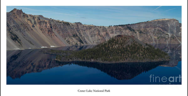 Crater Lake Photograph - Crater Lake by Twenty Two North Photography
