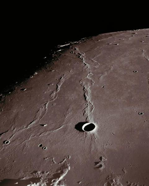 Wall Art - Photograph - Crater Nielsen by Nasa/science Photo Library