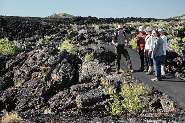 Volcanic Craters Photograph - Craters Of The Moon Walking Tour by Jim West