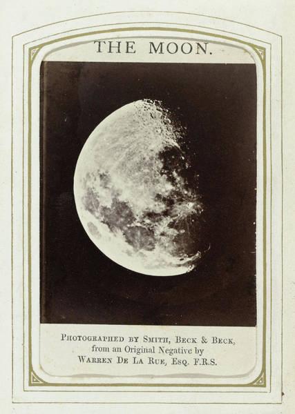 Wall Art - Drawing - Crescent Moon, Warren De La Rue, Beck & Beck Smith by Artokoloro