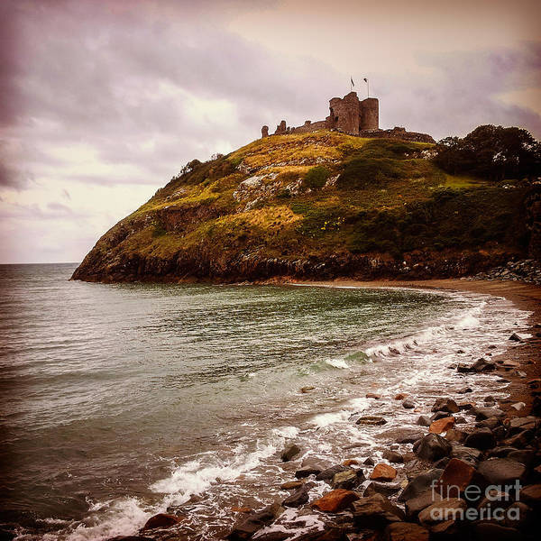 North Wales Wall Art - Photograph - Criccieth Castle North Wales by Colin and Linda McKie