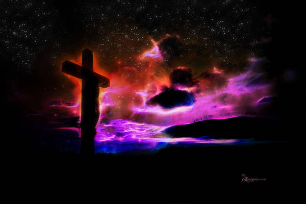 Digital Art - Cross by Ericamaxine Price