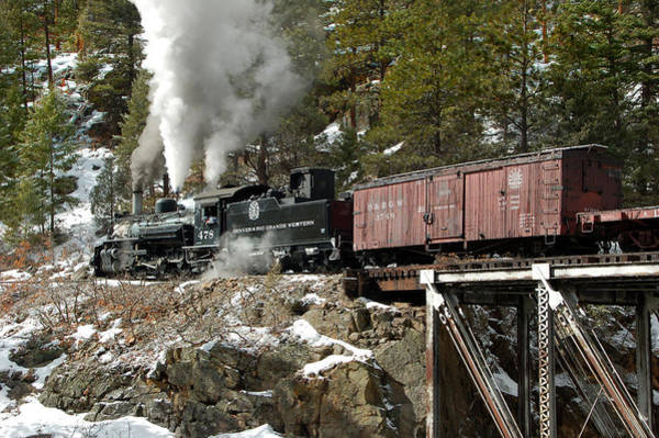 K-28 Photograph - Crossing The High Bridge by Ken Smith