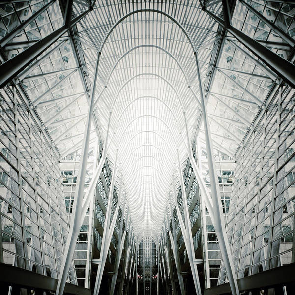 Photograph - Crystal Cathedral Of Commerce by Natasha Marco