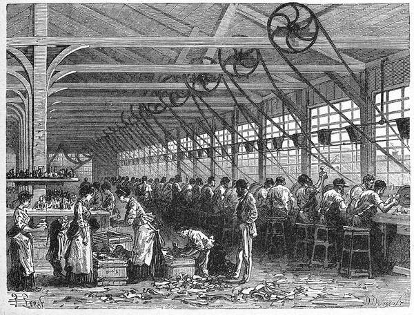 Manufacturing Wall Art - Photograph - Crystal Factory by Cci Archives/science Photo Library
