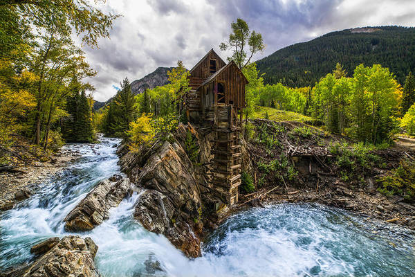 Wall Art - Photograph - Crystal Mill Co by Peter Irwindale