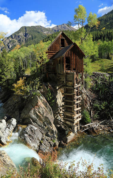 Mining Photograph - Crystal Mill by Johnny Adolphson