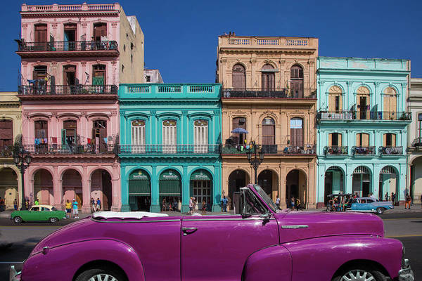 Balcony Photograph - Cuba, Havana City Scenic by Jaynes Gallery