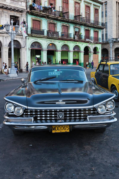 American Revolution Photograph - Cuba, Havana, Havana Vieja, Detail by Walter Bibikow