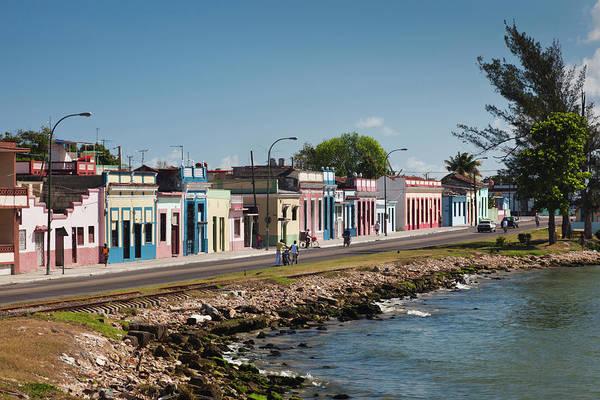 Bahia Photograph - Cuba, Matanzas Province, Matanzas, Town by Walter Bibikow