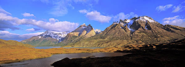 Andes Photograph - Cumbres, Torres And Cuernos Del Paine by Martin Zwick