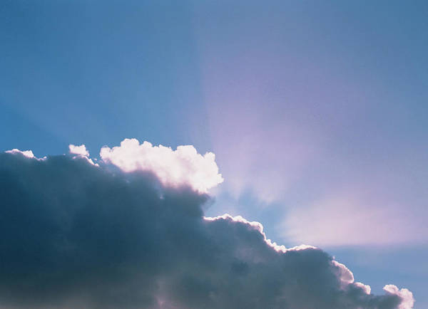 Cumulus Photograph - Cumulus Cloud by Simon Fraser/science Photo Library