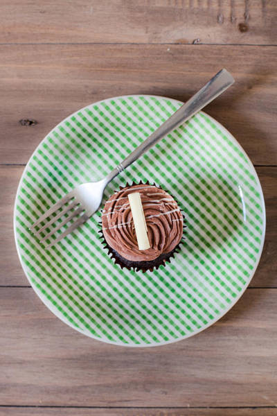 Brown Wall Art - Photograph - Cupcake  by Tom Gowanlock
