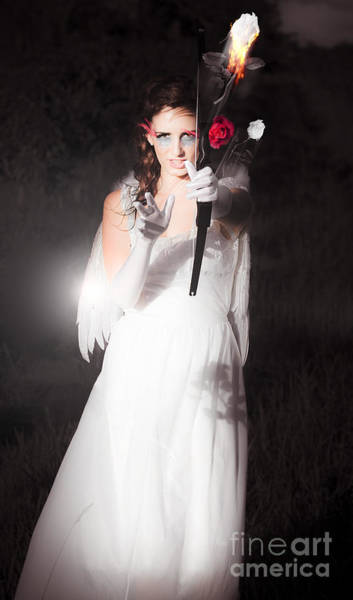 Loose Wall Art - Photograph - Cupid Igniting The Spark Of Love by Jorgo Photography - Wall Art Gallery