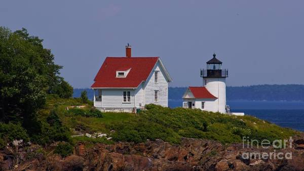 Photograph - Curtis Island Lighthouse. by New England Photography