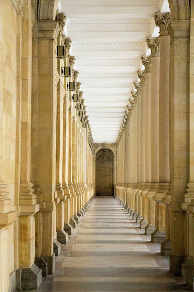 Colonnade Photograph - Czech Republic Karlovy Vary (carlsbad by Emily Wilson