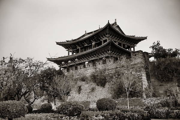 Photograph - Dali Town by Songquan Deng
