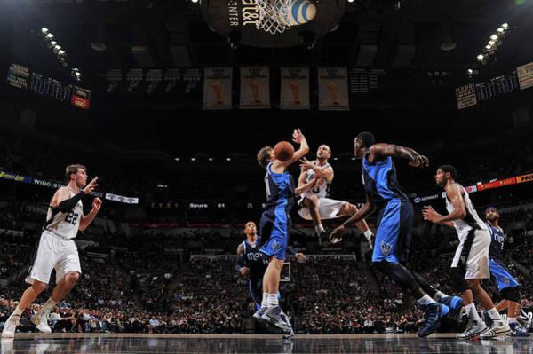 Texas Photograph - Dallas Mavericks V San Antonio Spurs - by Garrett Ellwood