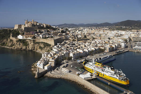 Baleares Photograph - Dalt Vila, Unesco World Heritage Site by Xavier Durán