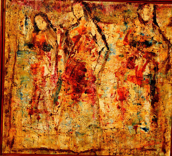 Ganesh Painting - Dance Dance Dance by Anand Swaroop Manchiraju