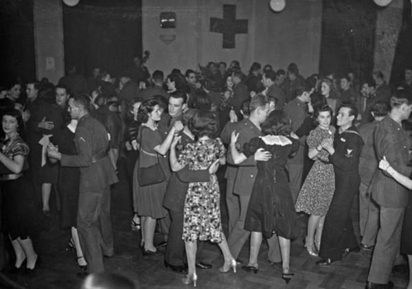 Wall Art - Photograph - Dancing, C1940 by Granger