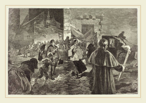 Wall Art - Drawing - Daniel Vierge Spanish, 1851-1904 by Litz Collection