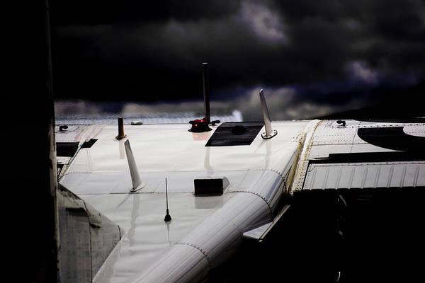 Kimberley Airport Photograph - Dark Clouds by Paul Job