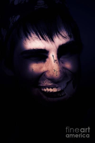 Photograph - Dark Creepy And Spooky Undead Pirate by Jorgo Photography - Wall Art Gallery