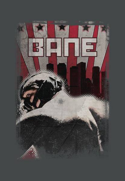 Dark Knight Digital Art - Dark Knight Rises - Bane Poster by Brand A