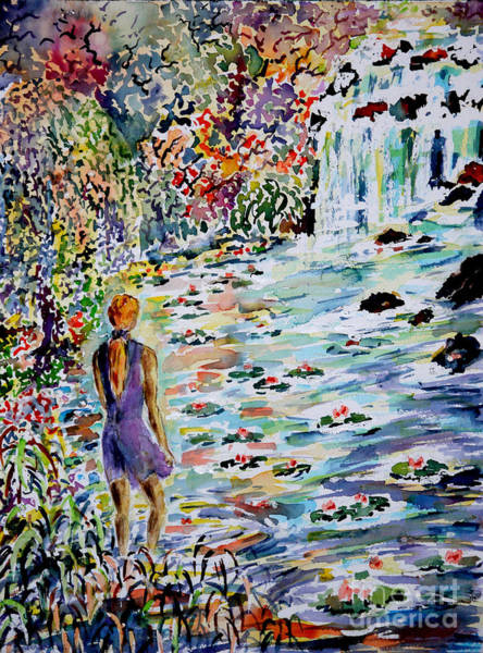 Wall Art - Painting - Daughter Of The River by Almo M