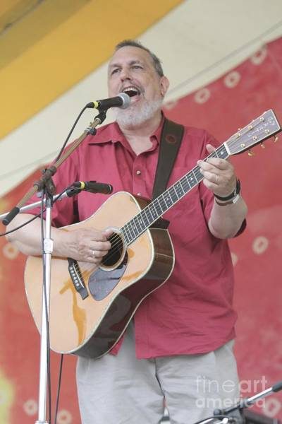Folk Singer Photograph - David Bromberg by Concert Photos