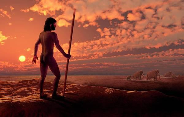Homo Sapiens Photograph - Dawn Of Man by David Gifford