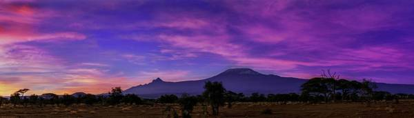 Amboseli Wall Art - Photograph - Dawn Over Mount Kilimanjaro by Babak Tafreshi