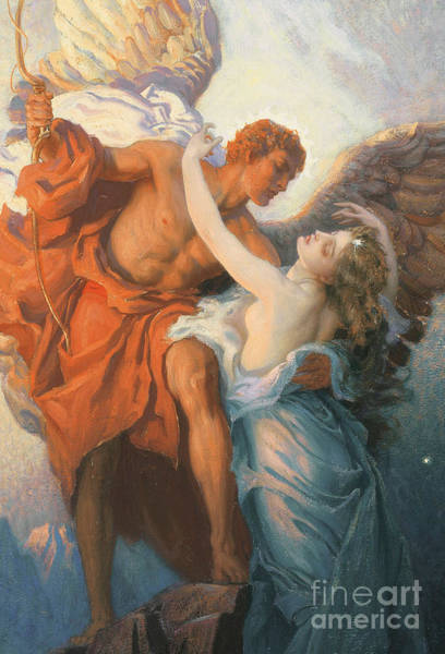 Mythology Painting - Day And The Dawnstar by Herbert James Draper