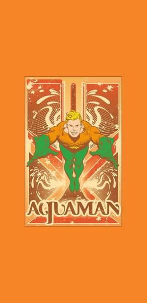Aquaman Digital Art - Dc - Aquaman by Brand A