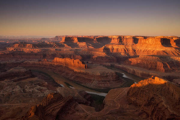 Canyonlands National Park Photograph - Dead Horse Point Morning by Andrew Soundarajan